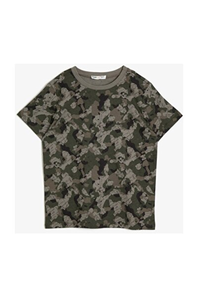 Yeşil Erkek Çocuk T-Shirt
