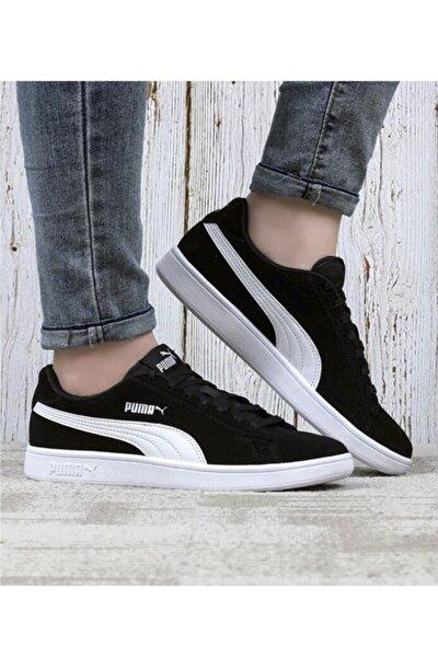 Unisex  Siyah-beyaz  Sneaker Ayakkabı 36-45 Smash V2 364989 01