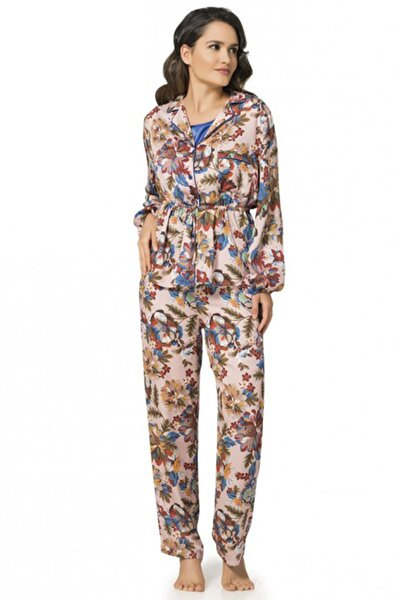 Kadın Pudra 1061 Pijama Takımı