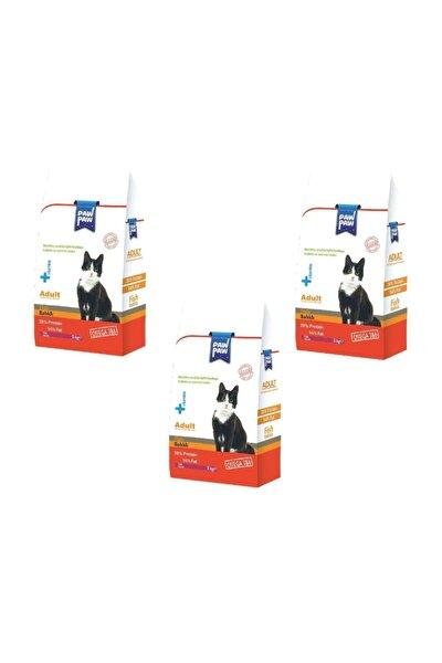Balıklı Yetişkin Kedi Maması 1000 gr * 3 Adet