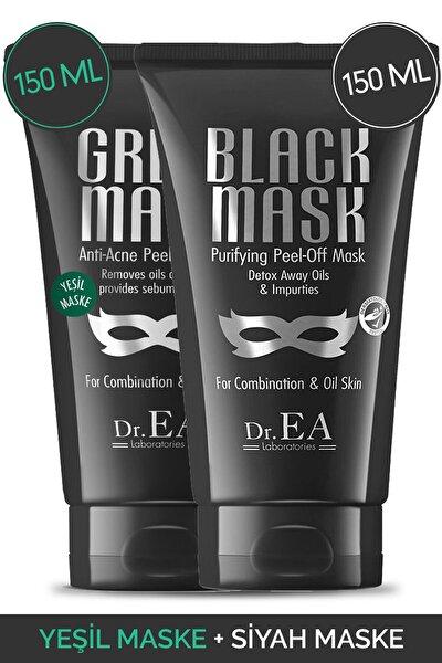 Dr. Ea Soyulabilir Siyah Maske Ve Soyulabilir Yeşil Maske 2'li Özel Set
