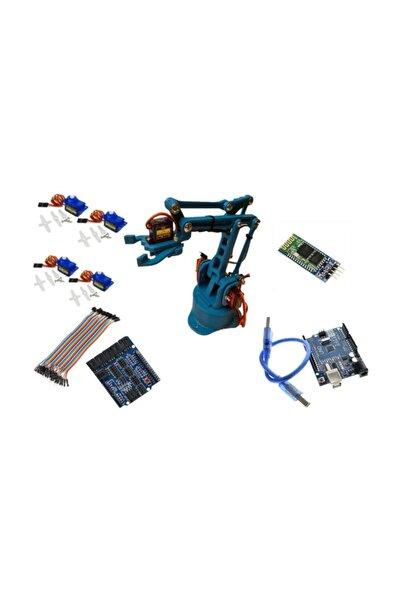 Bluetooth Kontrollü Robot Kol Kit