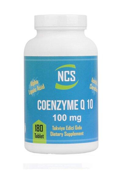 Koenzim Q-10 Alfa Lipoik Asit L-karnitin Coenzyme Q10 180 Tablet