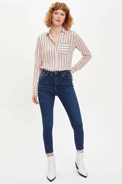 Kadın Mavi Super Skinny Fit Jean Pantolon M9202AZ.20SP.NM28