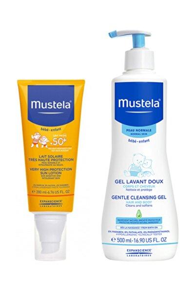 Gentle Cleansing Gel 500ml +  Güneş Kremi 200 Ml | Orijinal Boy Yaz Bakım Seti