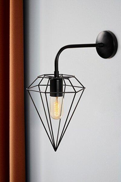 Özel Tasarım Lüx Duvar Lambası - Elmas - 6301