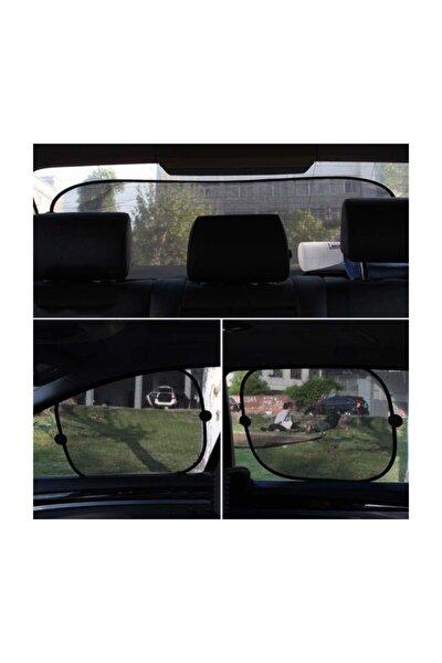 Araba Güneşliği 5 Parça Perde Seti