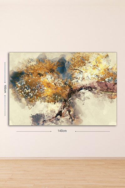 Dev Boyut Dekoratif Kanvas Tablo 100x140 cm