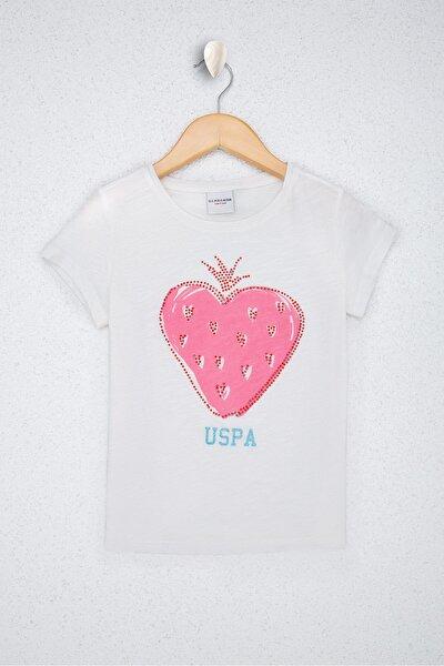Beyaz Kız Çocuk T-Shirt