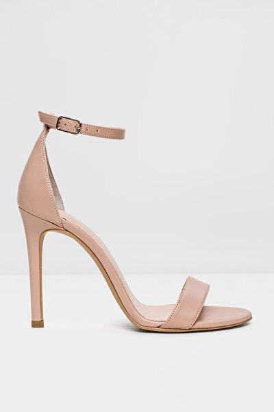 PAOLA-TR - Bej Kadın Abiye Topuklu Sandalet