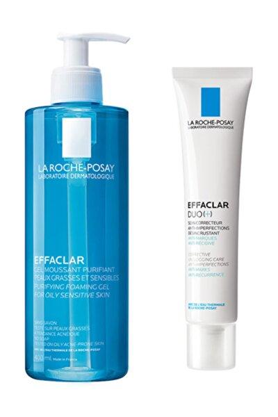 Effaclar Jel 400 ml +  Duo Krem 40ml.| Akne Bakım Set Glb20200225012