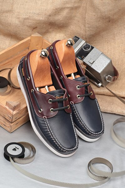 D815 Günlük Klasik Hakiki Deri Erkek Ayakkabı