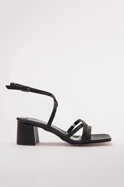 Siyah Kadın Sandalet 01SAY177640A100