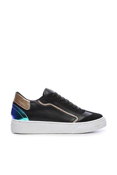 Siyah Unisex  Vegan Sneakers & Spor Ayakkabı 689 502 RG BN AYK Y19