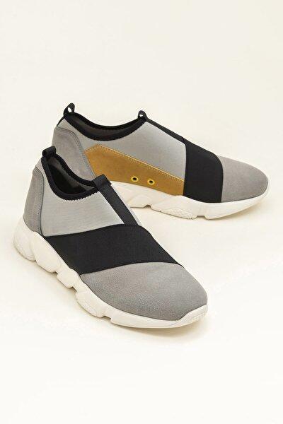 HAZZE Gri Erkek Ayakkabı