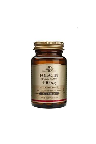 Folic Acid (folacin) 400 Mcg 100 Tablet