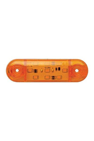 9 Ledli Tombul Parmak Lamba En Uygun Fiyat 12-24 Volt Sarı