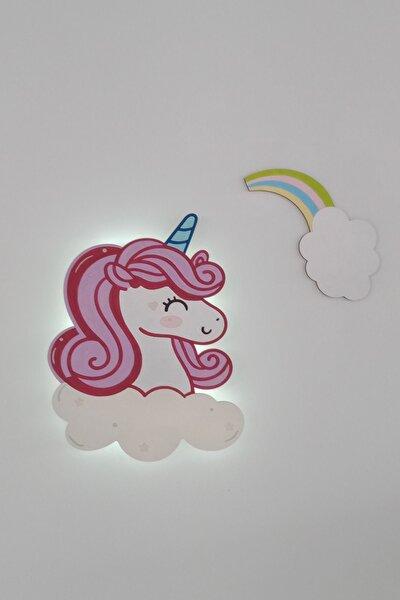 Çocuk Odası Aydınlatma Unicorn Gece Lambası Işıklı Duvar Aydınlatma
