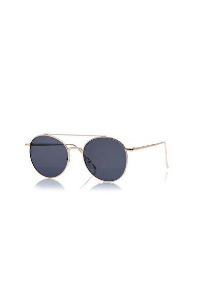 Unisex Güneş Gözlüğü BH DB149 Gold Siyah