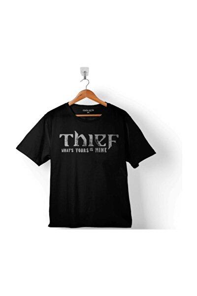 Thıef Logo Meme Çocuk Tişört