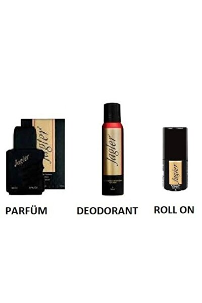 Orıjınal Classıc Erkek Edt Parfüm 90 Ml + Deo 150ml+rollon 3'lü Set Yeni Ürün