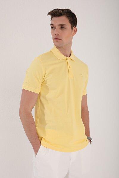 Polo Yaka Sarı Erkek Tshirt T08ER-87748