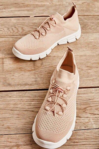 Turuncu Kadın Sneaker K01816027182
