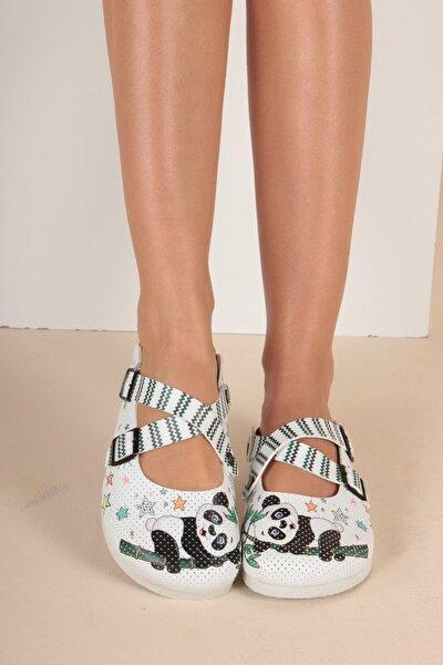 Mantar İç Kadın Sandalet