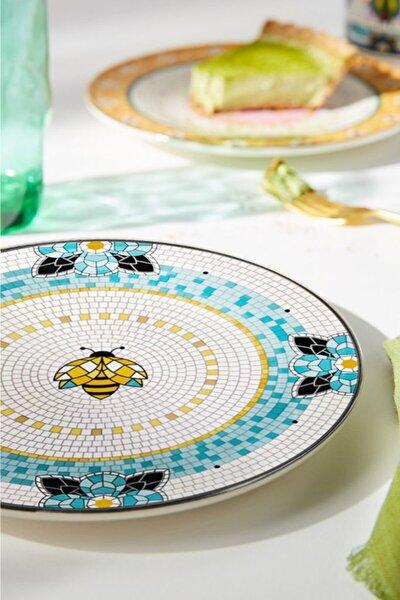 Patio 19 Cm Stoneware 6'lı Pasta Tabağı Pat0002