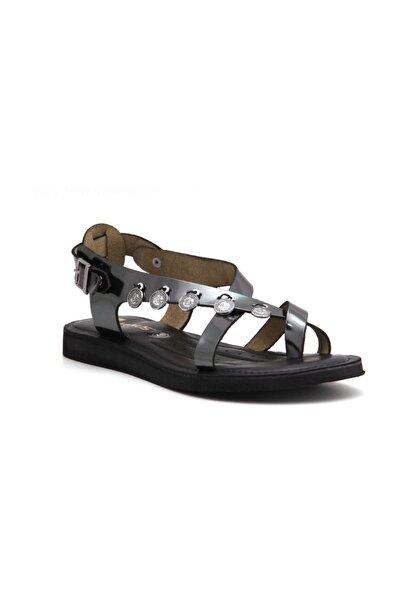 Kadın Gümüş Sandalet