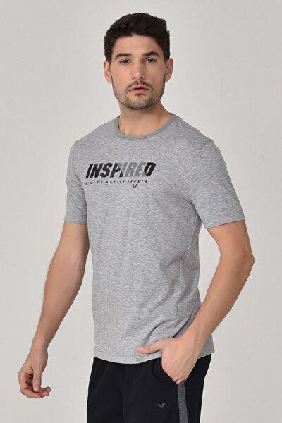 Gri Erkek T-shirt  GS-8809