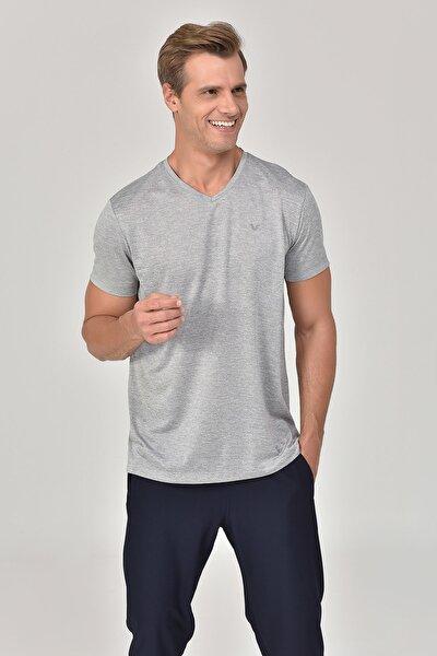 Gri Erkek T-shirt  GS-8820