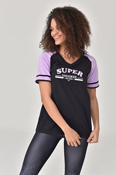 Siyah Kadın T-Shirt GS-8616