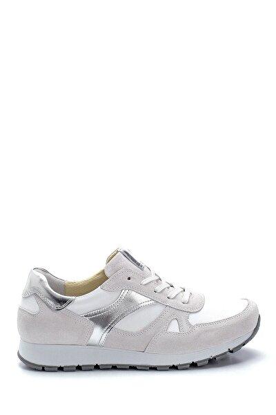 Kadın Beyaz Deri Sneaker