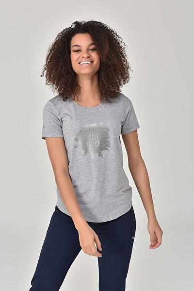 Gri Kadın T-shirt  GS-8613