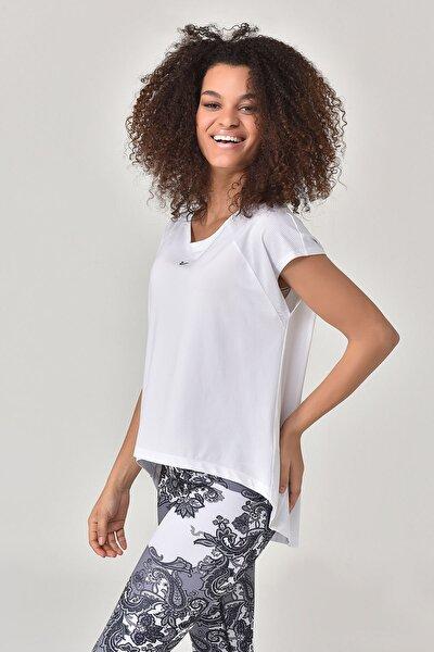 Beyaz Kadın T-shirt  GS-8028