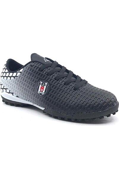 SERGI TURF BJK Siyah Erkek Halı Saha Ayakkabısı 100395216