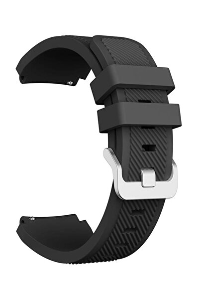 Huawei Watch Gt Gt2 Kordon Kayış Akıllı Saat Kordonu - 46mm - Siyah