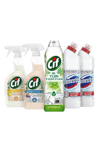 Cif + Domestos Temizlik Paketi