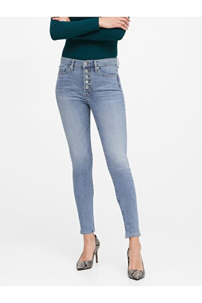 High-rise Skinny Jean Pantolon