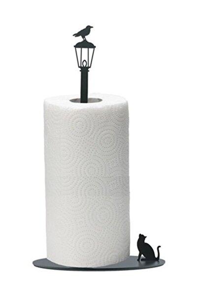 Figürlü Dekoratif Metal Kağıt Havluluk, Havlu Askısı, Havlu Tutucu