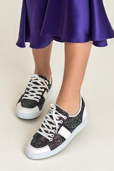 AREAL Siyah Kadın Ayakkabı