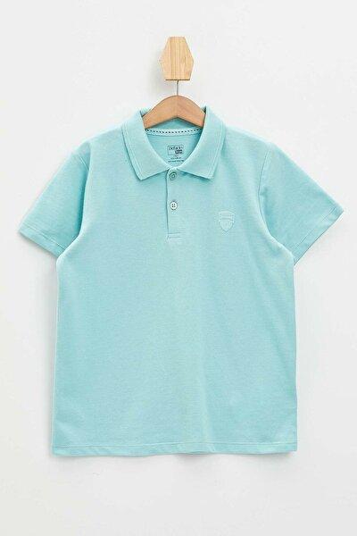 Erkek Çocuk Polo Yaka Kısa Kollu Tişört