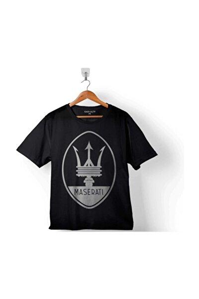 Maseratı Logo Black Çocuk Tişört
