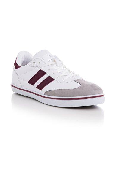 Unısex Spor Ayakkabı Beyaz Bordo Tbadm -> 43 -> Beyaz Bordo