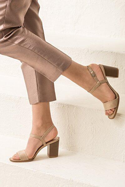 GUSTINEE Bej Kadın Sandalet