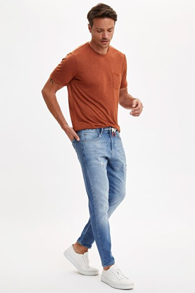 Erkek Mavi Carrot Fit Jean Pantolon R2181AZ.20SP.NM28