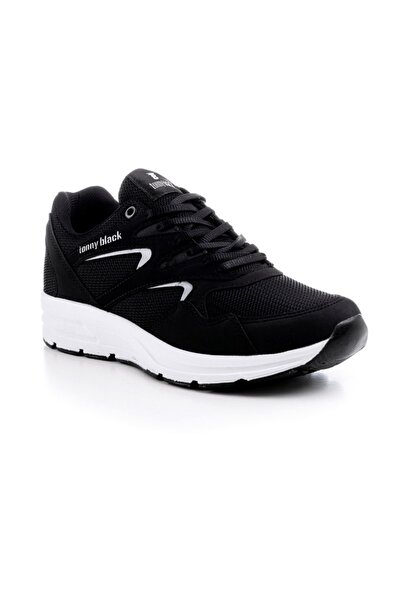 Unısex Spor Ayakkabı Siyah&beyaz 772 - 45  Siyah beyaz