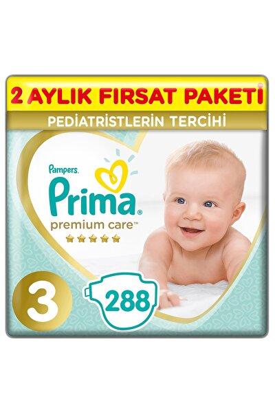 Premium Care Bebek Bezi 3 Beden 288 Adet Midi 2 Aylık Fırsat Paketi