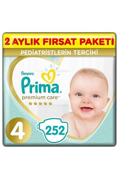 Premium Care Bebek Bezi 4 Beden 252 Adet Maxi 2 Aylık Fırsat Paketi